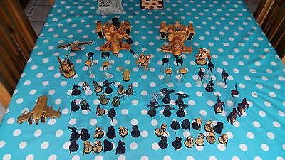 Warhammer 40k Tau army (mostly painted, roughly 1500 points, good condition)
