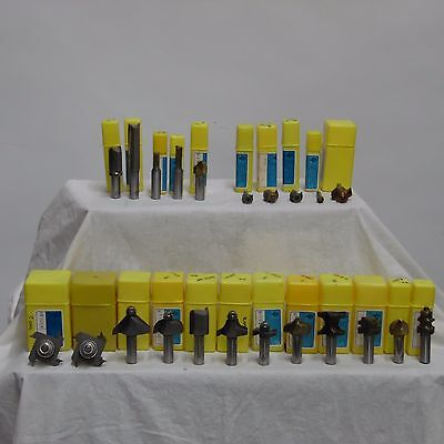 22 New Sy Industries Router Bits