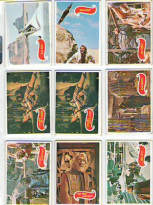 1967 Topps Planet of the Apes Green Backs Heston 14 Card Lot GD-EX FREE S&H