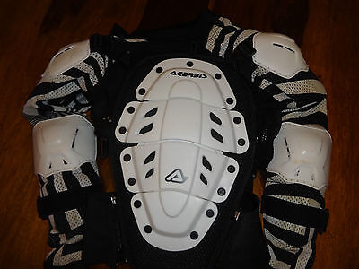 Acerbis full body armour Enduro Atv Motocross Size Small / Medium