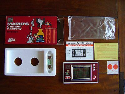 Nintendo game & watch Mario s cement factory neuf New Old Stock Never played
