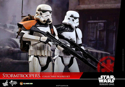 HOT TOYS - STORMTROOPER Pack 2 MMS 394 Rogue One Movie Masterpiece 1/6, 30 cm