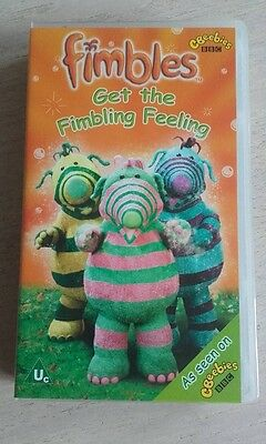 Fimbles..Get The Fimbling Feeling VHS Video  NEW AND SEALED