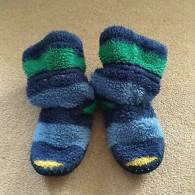 Joules Kids Slippers - Size 1-3 (L)
