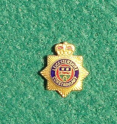 Leicestershire Constabulary Police CREST tie tac pin badge BY JEEVES