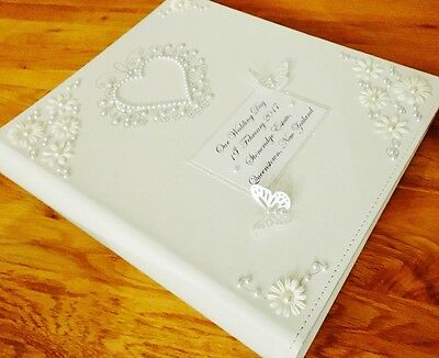 Stunning Large Personalised Wedding/birthday/Anniversary Photo/Photograph Album*