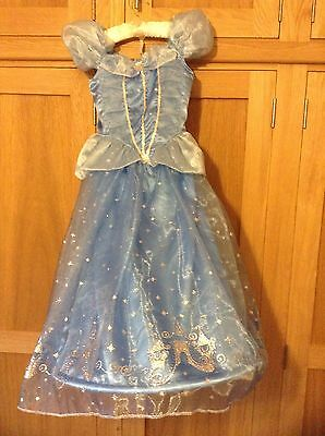 Disney Store, Cinderella Dress, Age 7-8 Years, Excellent Condition