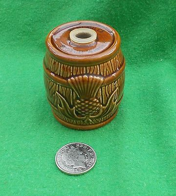 Beswick Barrel Beneagles Whisky Decanter / flask brown