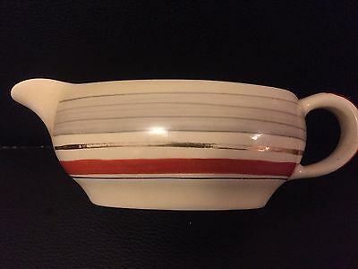 Clarice Cliff Vintage Art Deco Royal Staffordshire Ceramics Gravy Sauce Boat