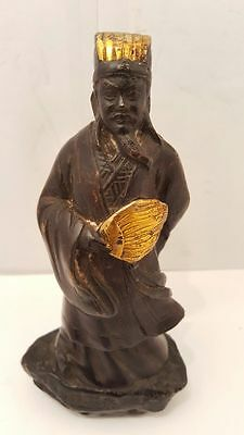 Fine Antique Chinese Statue King Figurine
