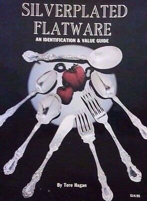 Silverplate Flatware Id Collectibles Price Guide Book Hundreds Of Patterns