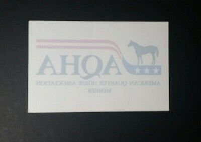 American Quarter Horse Association Sticker Decal AQHA
