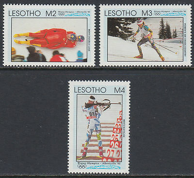 Lesotho 1992 ** Mi.995/97 Olympische Spiele olympic games [st2667]