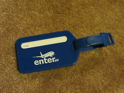 Enter Air Airline Luggage Tag Brand New  Mint