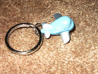 Klm Dutch Airline Key Ring Aircraft Plane  New