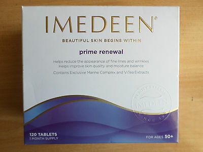 IMEDEEN PRIME RENEWAL Skincare 120 tablets, 1 month supply