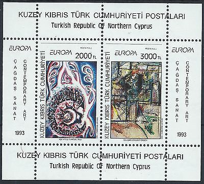 CYPRUS TURKEY 1993 SG MS353 Europa CEPT Sheet Mint MNH A#025