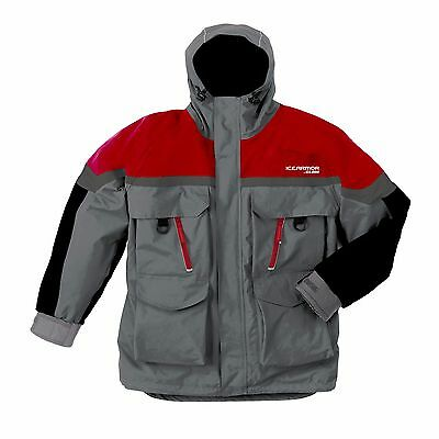 Clam Lift  Parka Ice Fishing Float Jacket sz XL. Ice Armor color Red