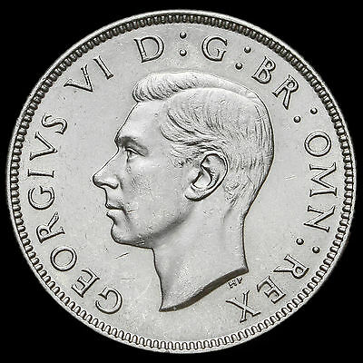 1944 George VI Silver Two Shilling Coin / Florin – G/EF #2