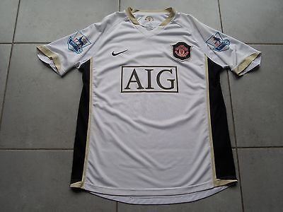 MANCHESTER UNITED Ancien Maillot football Officiel n°7 Ronaldo t.Adulte M Nike