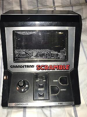 Scramble Grandstand Vintage Electronic Video Game