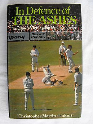 In Defence of The Ashes, Christopher Martin-Jenkins (Hardback, 1979)