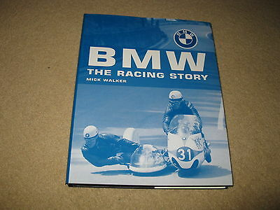 BMW - THE RACING STORY MOTORCYCLE BOOK 2003 by MICK WALKER
