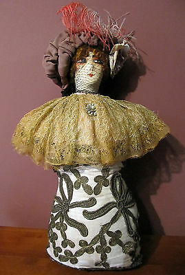 Antique Boudoir Doll – Bed Doll