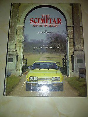 reliant scimitar and its forebears rare book