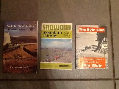 3 Railway Booklets
