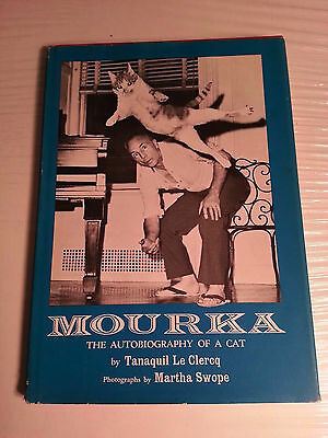 Mourka: The Autobiography of a Cat - 1964 1st - Tanaquil Le Clercq Martha Swope
