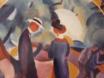 Promenade Collectors Plate By Aug Macke