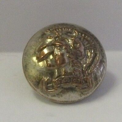 Artists Rifles Volunteers Officers Silver Plate 16.5mm Button by Hobson & Sons