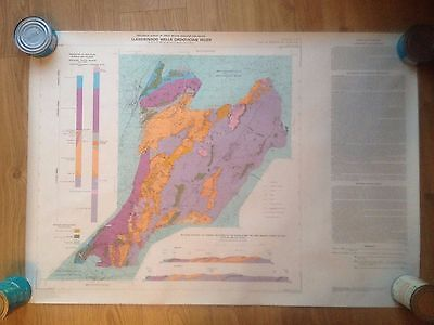 Geological Survey of Great Britain (England and Wales) Map Flat