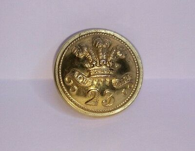 23rd Regiment of Foot Officers Gilt 19mm Button by Jennens