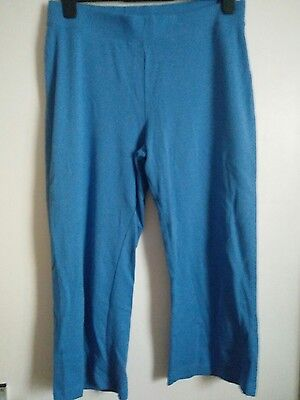 Tu blue cropped trousers size 16