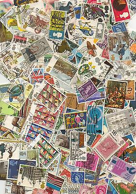 GB 800 Stamps Off Paper - All Different Lot2