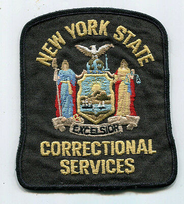 New York State Correctional Services Patch // USED // DOC // Police