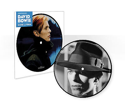 "DAVID BOWIE Sound and Vision 40TH ANNIVERSARY 7"" Vinyl PICTURE DISC 45 RPM"