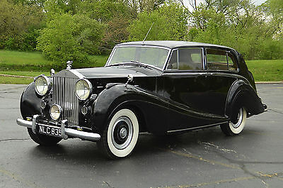 1953 Rolls-Royce Other (without division!) Rare Touring Saloon - without division. Stunningly original in presentation.