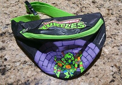 Vintage 1989 TMNT Teenage Mutant Ninja Turtles Youth Fanny Pack