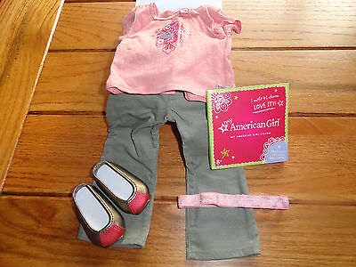 American Girl Myag True Style Outfit & Charm New In Box Retired