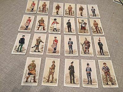 Players Uniforms Of The Territorial Army Loose Cards