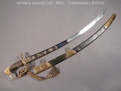 Officer's 1803 Pattern Blue and Gilt Sword - 16