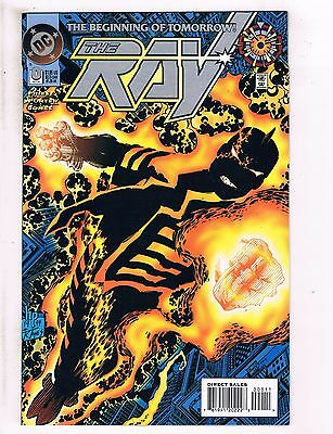Lot Of 12 The Ray DC Comic Books # 1 2 3 4 5 0 6 7 8 9 10 + Annual # 1 J104