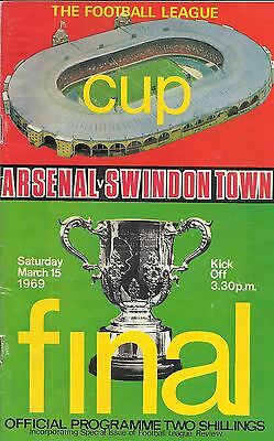 Arsenal v Swindon Town - League Cup Final - 15 March 1969