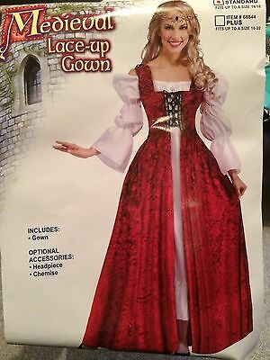 Medieval Gown and Chemise