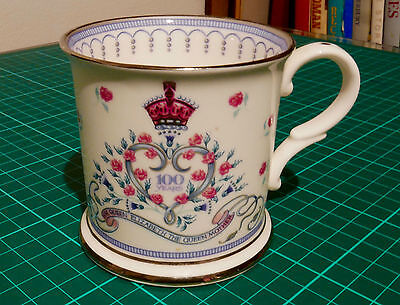 The Royal Collection Limited Edition Mug Queen Elizabeth the Queen Mother 2000