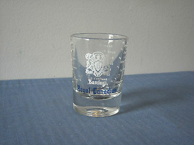 Barclay's Royal Canadian Shot Glass by Libbey