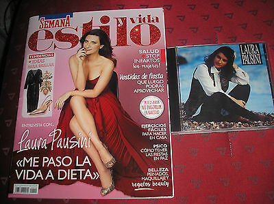 Laura Pausini Vida Y Estilo Spanish Magazine Mint/nuovo + Cd Spain 1994